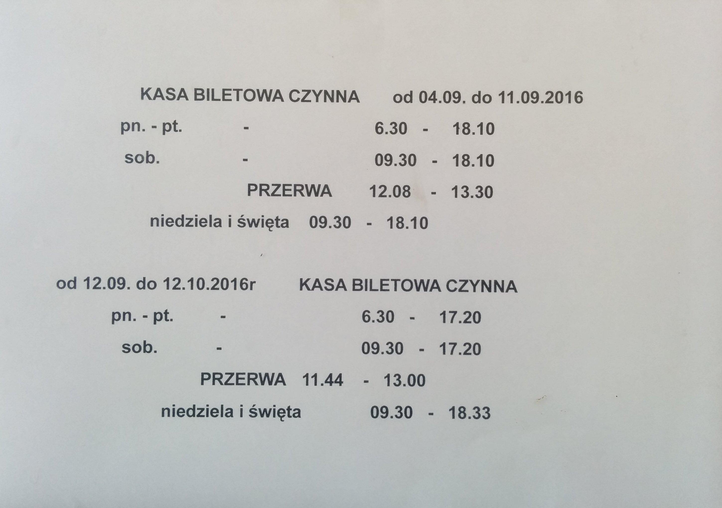 pkp-kasa-biletowa Gryfice