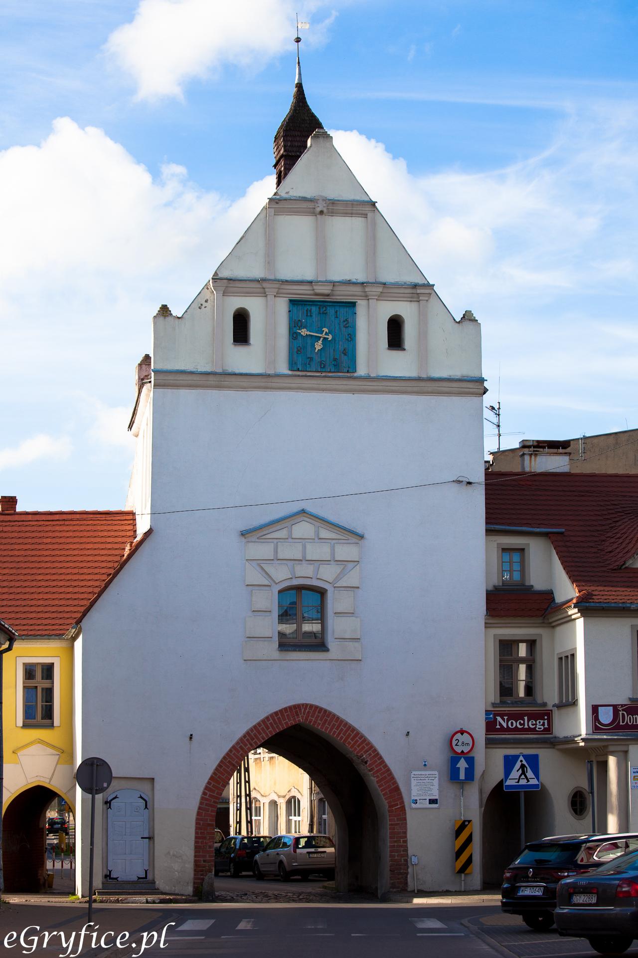 Brama Kamienna w Gryficach
