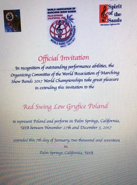 Red Swing Low Z Zaproszeniem Na Mś W Usa