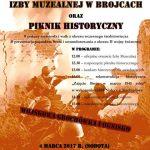 Otwarcie Izby Muzealnej w Brojcach - plakat