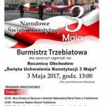 """Rocznica Obchodów """"Święta Uchwalenia Konstytucji 3 Maja"""