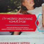 Dzień Dawcy Szpiku - plakat