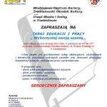 Targi edukacji i pracy -plakat