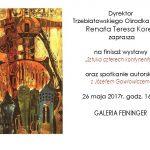 finisaż wystawy - zaproszenie