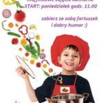 zajęcia kulinarne - plakat