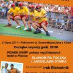 Mistrzostwa Polski w Przeciąganiu Liny Nocą - plakat