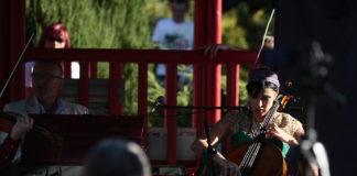 Koncert w Ogrodzie Japońskim