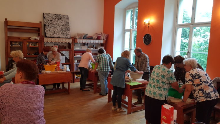 Warsztaty piernikowe w Trzebiatowie