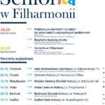 Seniorita w Filharmonii - plakat