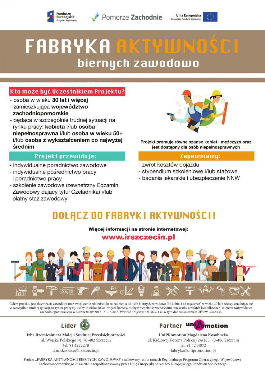 Fabryka Aktywności - plakat