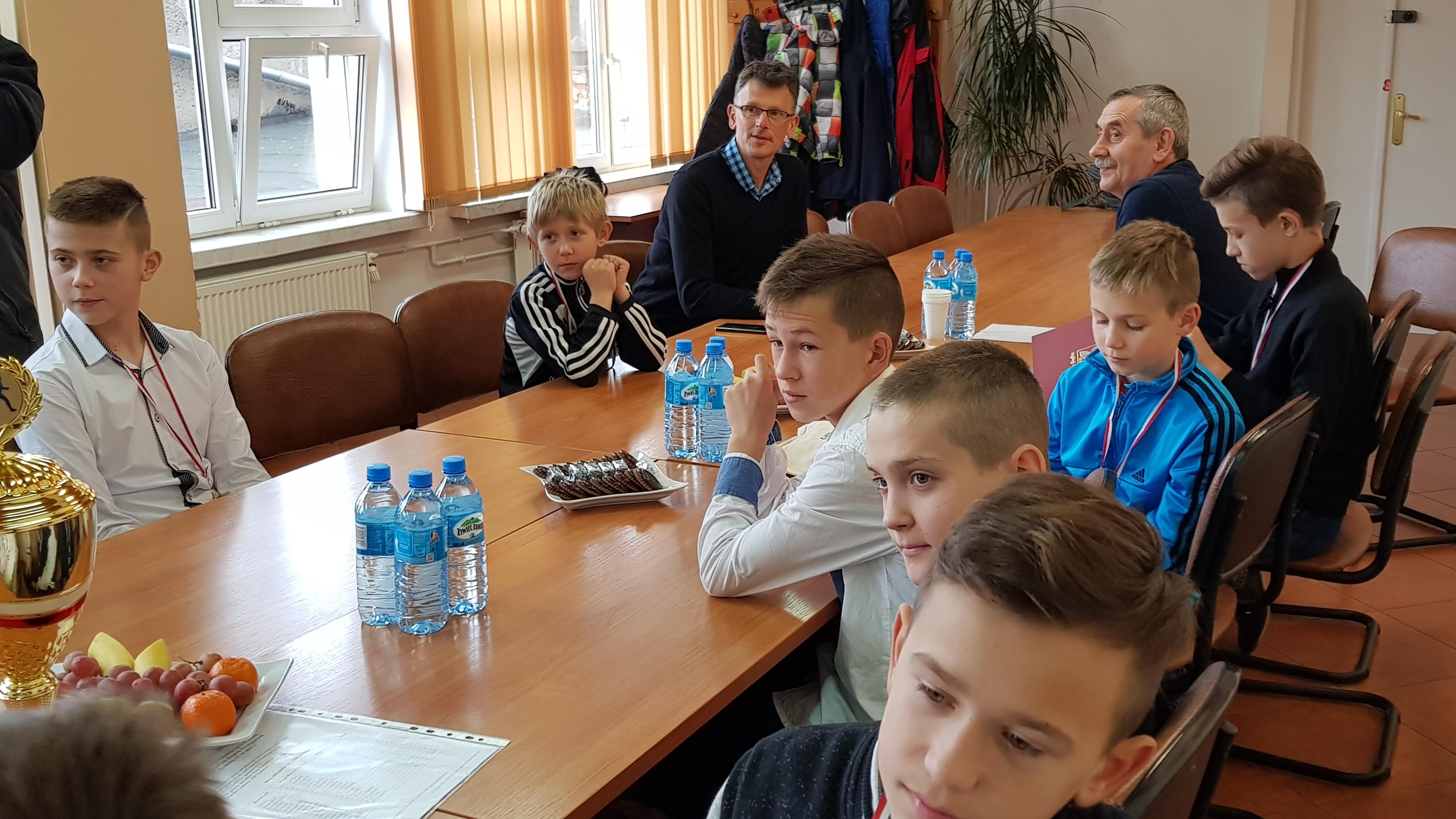 Mistrzowie województwa z wizytą u burmistrza