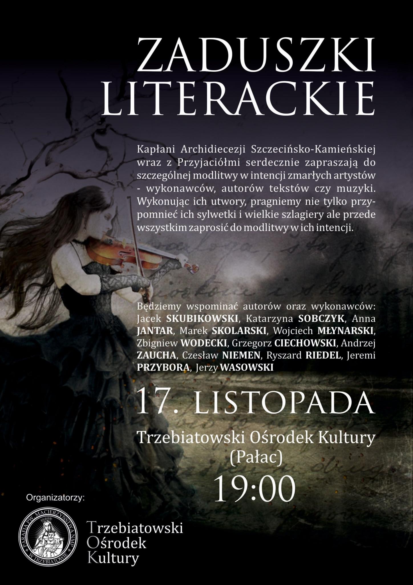 Zaduszki Literackie 2017