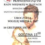 wigilia w Płotach 2017