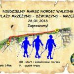 Marsz Nordic Walking - plakat