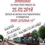 Marsz śladami kolei wąskotorowej