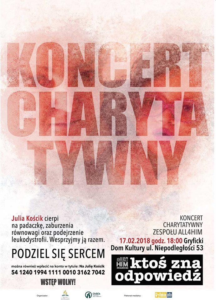 koncert charytatywny w GDK