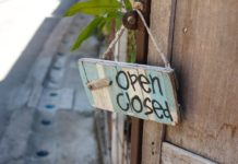 tabliczka na drzwi open/closed