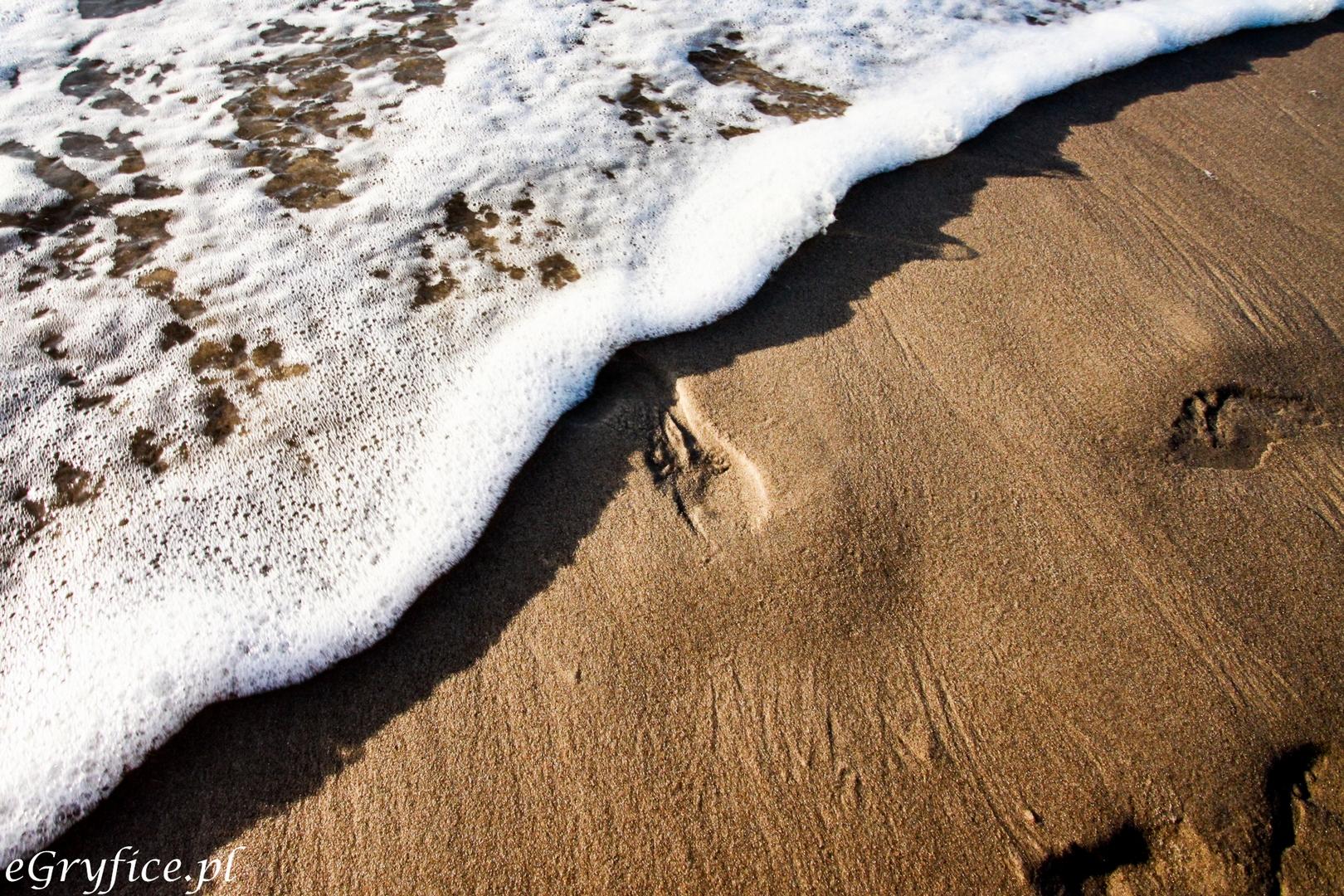 Piaszczyste zejście do morza na plaży w Rewalu to również znak firmowy wielu polskich plaż. To jeden z powodów, dla których ludzie wybierają wczasy nad Bałtykiem i szukają tanich pokoi i kwater w pensjonatach.