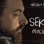 Spotkanie z Tomaszem Sekielskim, Miejska Biblioteka Publiczna im. Zbigniewa Załuskiego w Gryficach, maj 2018