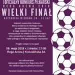 konkurs piłkarski, Płoty, maj 2018, Rega Arena