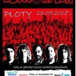 Luxtorpeda, koncert, Płoty, maj 2018, plakat