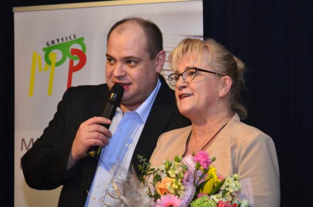 Spotkanie autorskie w Miejskiej Bibliotece Publicznej w Gryficach, Marzena Sztuka, kwiecień 2018