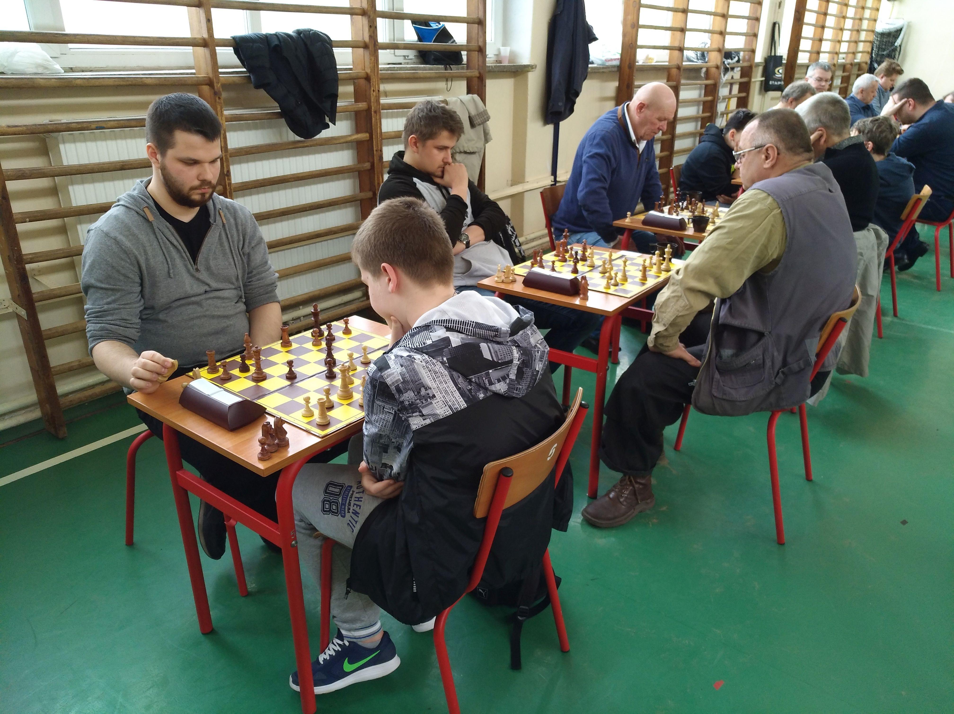 szachy w Gryficach, turniej o puchar burmistrza 2018