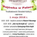 majówka 2018, majówka w Pałacu, Trzebiatowski Ośrodek Kultury