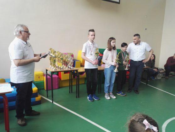 VII Turniej o Nagrodę Mądrej Sowy - Gryfice 2018, rozdanie nagród
