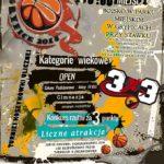 Turniej koszykówki ulicznej w Gryficach