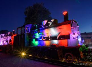 nocny pociąg do muzeum Gryfice 2018