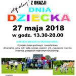 Dzień Dziecka, Trzebiatów, maj 2018