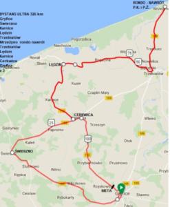 Supermaraton Gryfland 2018, dystans ULTRA