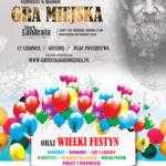 Gra Miejska, Gryfice 2018, plakat