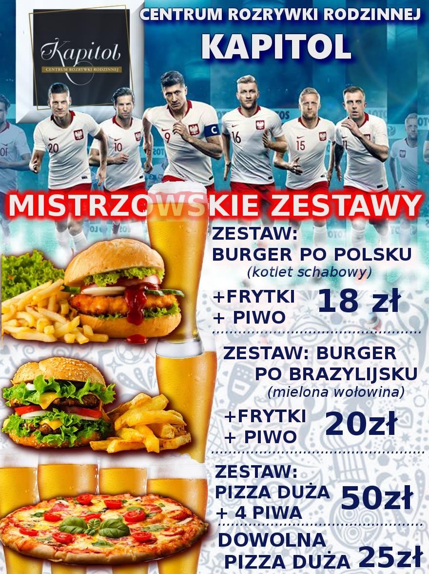 promocja z okazji mistrzostwa świata i meczu polska - kolumbia, polska - japonia