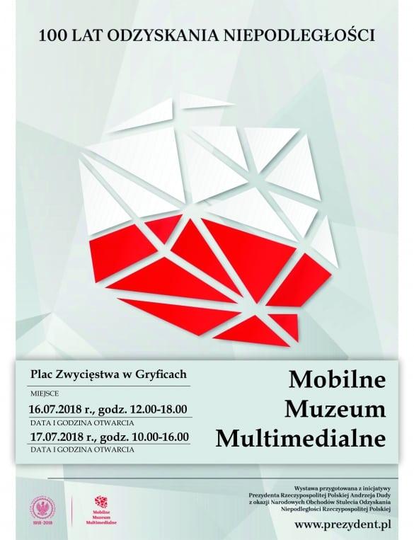 Mobilne Muzeum Multimedialne w Gryficach, lipiec 2018