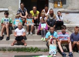Czytające podwórka, Sadlno, lipiec 2018