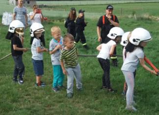 Przedszkolaki z Gryfic z wizytą w Chojnicach.