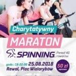 Charytatywny Maraton Spinning dla Poli, sierpień 2018