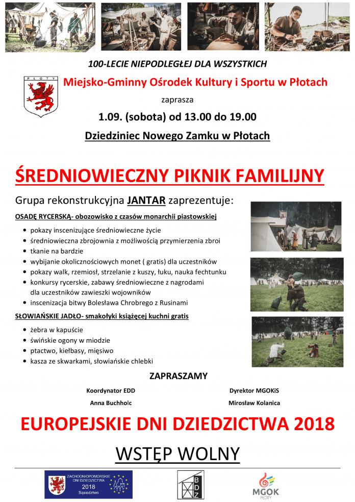 Piknik średniowieczny, Płoty, wrzesień 2018