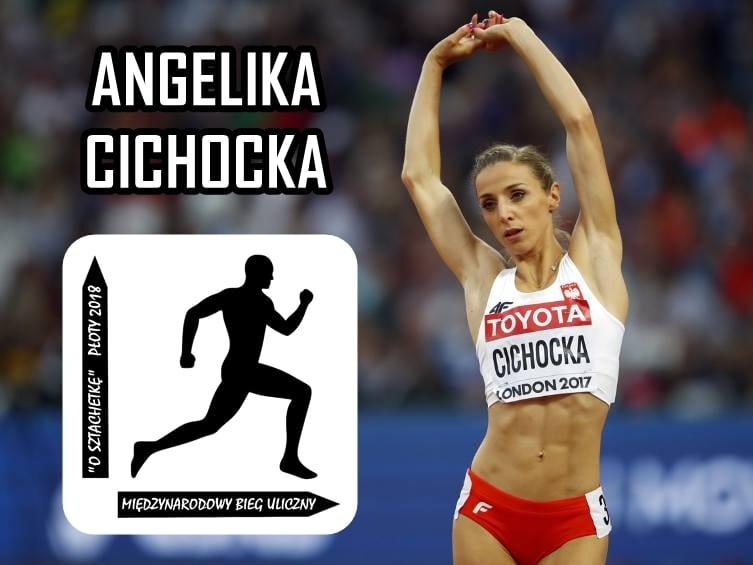 Gościem specjalnym biegu ulicznego w Płotach będzie wielokrotnie tytułowana lekkoatletka Angelika Cichocka!