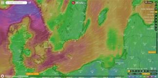 Nad Bałtyk nadciąga bardzo silny wiatr.