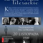 """20 listopada w Trzebiatowie odbędą się """"Zaduszki Literackie""""."""