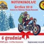 Motomikołaje  6 grudnia odwiedzą Gryfice.