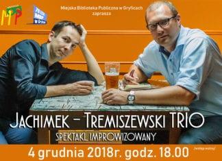 4 grudnia w Miejskiej Bibliotece Publicznej odbędzie się spektakl w wykonaniu duetu Jachimek-Tremiszewski Trio.