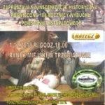 W najbliższą sobotę w Trzebiatowie odbędą się uroczystości związane z kolejną rocznicą wybuchu Powstania Listopadowego.