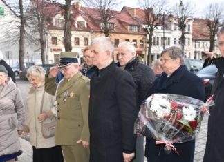 Dzisiaj (6 marca 2019) odbyły się uroczystości związane z ustanowieniem władzy polskiej w Gryficach. Fot. Starostwo Powiatowe w Gryficach.