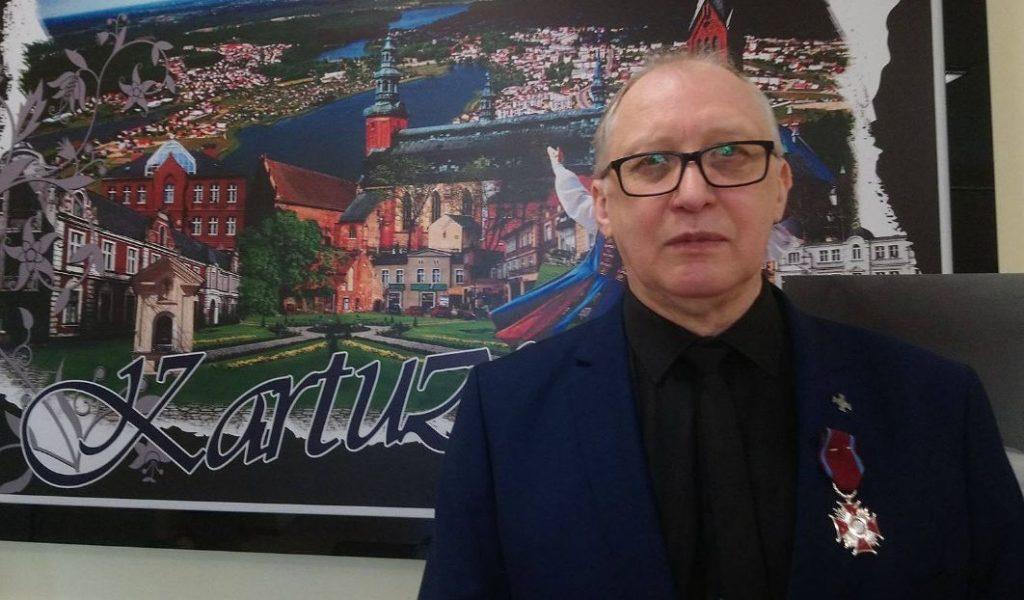 Andrzej Chmielewski został odznaczony Srebrnym Krzyżem Zasługi.