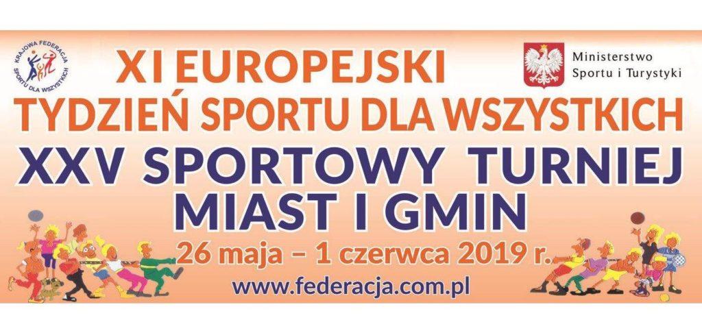 Gmina Rewal przystępuje do Europejskiego Tygodnia Sportu.