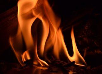 pożar kaplicy w Trzebiatowie